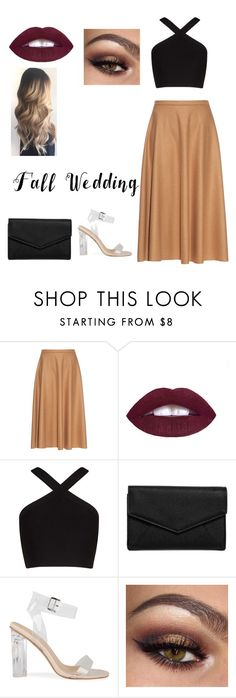 """Falling for you"" by jasmine823 ❤ liked on Polyvore featuring MaxMara, BCBGMAXAZRIA, LULUS and fallwedding"