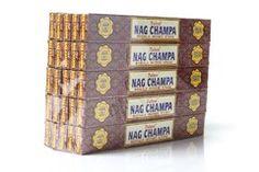 Incenso Nag Champa Tulasi - Caixa C/ 25 Unidades De 15g