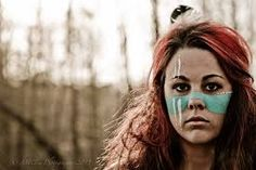 Image result for native american women face paint