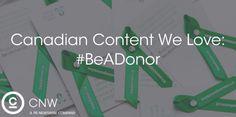 Trillium Gift of Life's #BeADonor Campaign (Apr 8/16)