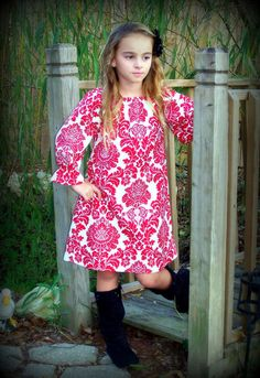 Custom Boutique Clothing Girls Beautiful by sewsweetsmocking, $45.00
