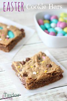 Easy Easter Cookie Bars