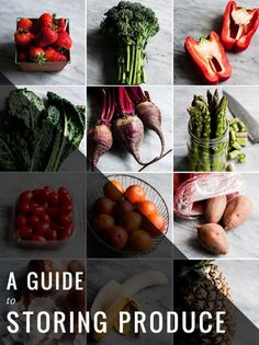Guide to Produce: 12 Storage Rules To Make Fruits + Veggies Last Longer by AlliFiske