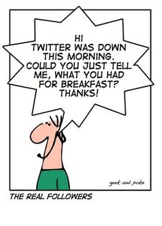 A little laugh about twitter