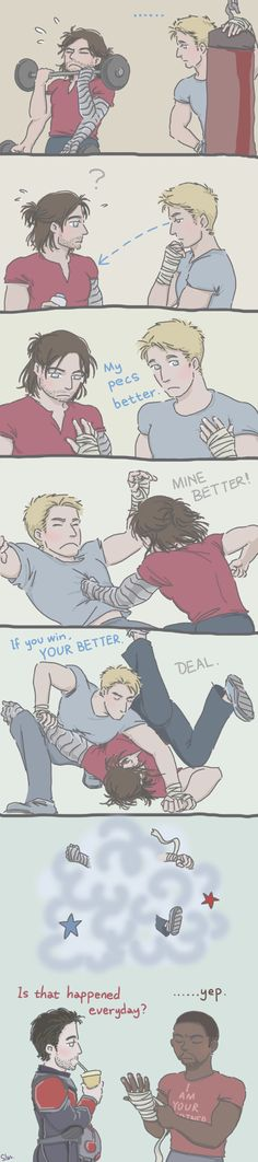 Steve and Bucky who the best?