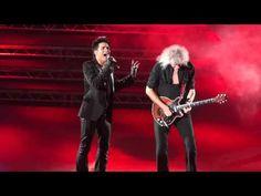 "Queen & Adam Lambert ""The Show Must Go On"", London, 14th July 2012"