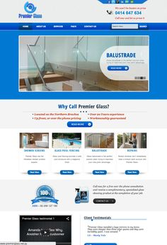 Premier Glass are based on the Northern Beaches of Sydney and specialise in glass balustrade and frameless shower screens.