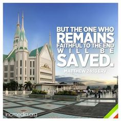 Instagram photo by incmedianews - Matthew 24:13 ERV #verseoftheweek #iglesianicristo #incmedia Bible Verses Quotes Inspirational, Bible Quotes, Qoutes, Matthew 24 13, Churches Of Christ, My Church, Faith Hope Love, Daily Quotes, Jesus Christ
