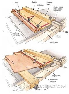 3801-Table Saw Taper Jig Plans