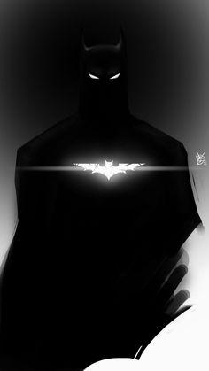 The Dark Knight by Diyriko.deviantart.com on @DeviantArt