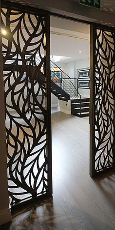 Miles and Lincoln | Laser cut screens, laser cut panels #asianhomedecorlivingrooms