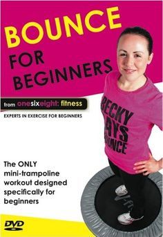 Bounce for Beginners - Mini Trampoline Workout DVD from onesixeight: fitness Mini Trampoline Workout, Rebounder Trampoline, Rebounder Workout, Fitness Trampoline, Health And Wellness, Health Fitness, Fitness Goals, Workout Schedule, Workout Routines