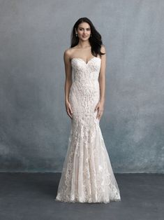 Allure Bridals is one of the premier designers of wedding dresses, bridesmaid dresses, bridal and formal gowns. Browse our collection and visit one of our retailers. Top Wedding Dresses, Fit And Flare Wedding Dress, Bridal Dresses, Wedding Gowns, Bridesmaid Dresses, Tulle Wedding, Dream Wedding, Allure Couture, Bridal Tops