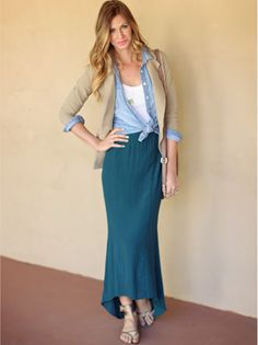 love this layering... too bad its too hot for this in Miami