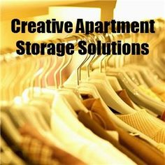 Organizing Solutions for Apartments - Creative Storage Solutions.