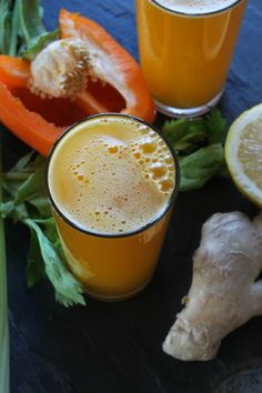 Bell pepper & pineapple juice