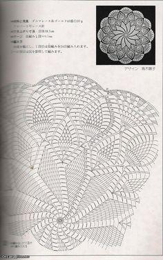 Kira scheme crochet: Scheme crochet no. 67 Kira scheme crochet: Scheme crochet no. 67 Learn the basi Motif Mandala Crochet, Crochet Doily Diagram, Crochet Circles, Crochet Doily Patterns, Crochet Chart, Thread Crochet, Filet Crochet, Crochet Stitches, Crochet Dollies