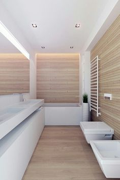 #bathroom #white #wood