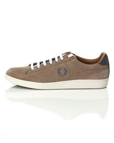 Fred Perry Shoe Suede – Sneakers – Brun