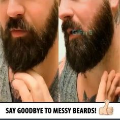 No More Curly Messy Beards! - if you are searching for beard straightening products then we have this beard straightening comb/br - Curled Hairstyles, Straight Hairstyles, Hair Videos, Hairstyles Videos, Hair And Beard Styles, Long Hair Styles, Hair Comb, Men's Hair, Beard Straightening