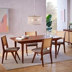 Upton Expandable Dining Table #westelm