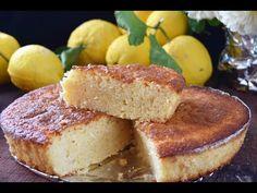 Bizcocho de limón fácil y esponjoso - YouTube Bunt Cakes, Flan, Sin Gluten, Deli, Tapas, Bakery, Sweet Treats, Food And Drink, September