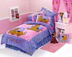 scooby doo crib bedding scooby doo springtime girls bedding comforter twin bed - Scoobydoo Bedding