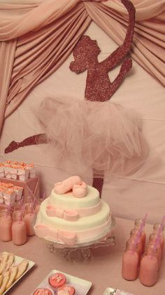 Lovely.  Especially if there were a ballet themed party with corresponding activities.