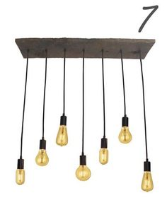 5 Pendant Light Cluster - Customizable - Modern – Hangout Lighting