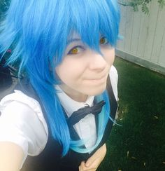 Was invited into a DMMD cosplay group as Aoba and how could I say no? _ Looking forward to cosplaying this gay ass at ATOA. _ Thanks to @built4sincos for letting me borrow her wig while mine's on the way!  #aoba #aobaseragaki #aobacosplay #aobaseragakicosplay #aobooty #aobootycosplay #DMMD #DMMDcosplay #dramaticalmurder #dramaticalmurdercosplay #anime #animecosplay #yaoi #yaoicosplay #bl #blcosplay #cosplay #cosplayer #gay #gayboy