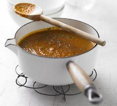 Indian spiced tomato soup, 130 calories