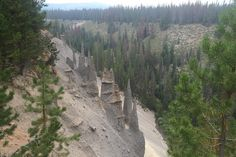 Pinnacles Crater Lake