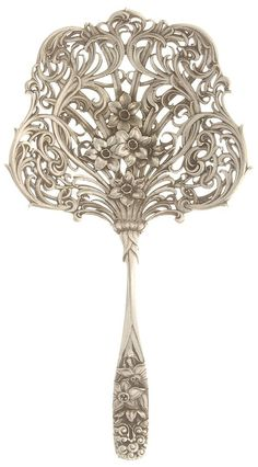 Large Pierced Bon Bon Server in 5740 (Sterling) by Whiting Division.