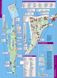 Isla Hotel Map