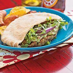 Falafel with Avocado Spread | CookingLight.com