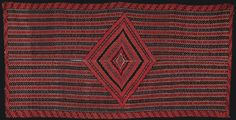 Lot 1303. RARE AND EXTRAORDINARY CLASSIC SALTILLO SERAPE ONCE OWNED BY LIBBY AND GEORGE ARMSTRONG CUSTER. (56749)