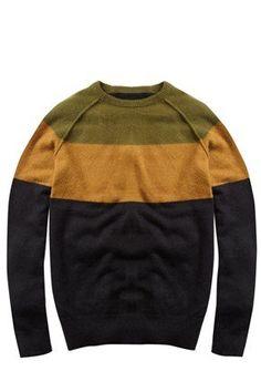 Fancy - Rego Yoke Angora Jumper - Mens Knitwear - French Connection