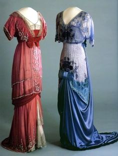 Loving the layers and fine embroidery.  Edwardian 1903 #historical #costume