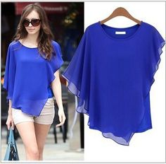 Specifications, reviews, price histories and tracker of fashion summer tops 2015 female women shirts batwing short sleeve chiffon blouse tops tees shirt feminine blouses clothing cheap