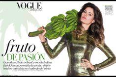 Isabeli Fontana for Vogue Mexico June 2014