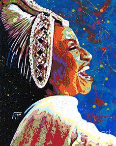 Celia Cruz Paintings | Fine Art America