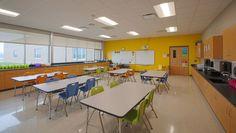 Battle Elementary School Art Classroom.