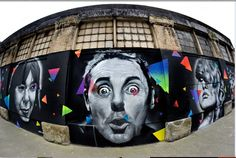 2nd and Main Cannery Building Mural.  #Weirdo  Photo by: Michael Doucett