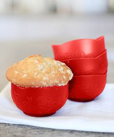 Loving this Adapt-a-Bowl Baking Cup - Set of Four on #zulily! #zulilyfinds