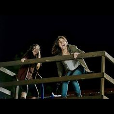 The Walking Dead Season 6 Episode 9 'No Way Out' Maggie and Enid