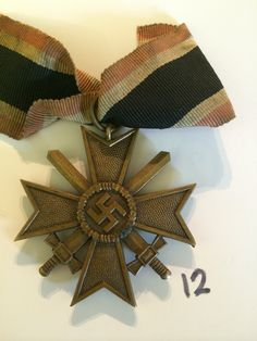 Start bid of £20 on the German WW2 War Merit Cross 2nd Class with Swords, place a bid online before 27th Feb 2015 http://www.bidonthis.co.uk/event/Yeovil-Auction-Rooms/eventless/German-WW2-War-Merit-Cross-2nd-Class-With-Swords