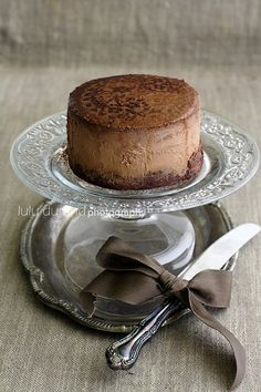 Tall Chocolate Cheesecake