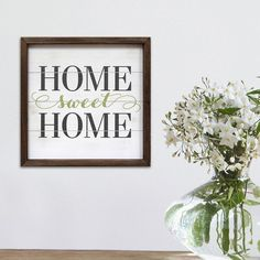 Home sweet home, sign, wall art. Decor,  diy, entry way, home sweet home, hallway living room, dining room, kitchen, bathroom, diy sign,  rustic, farmhouse, cricut projects, do it yourself or buy it here on a budget (aff link)