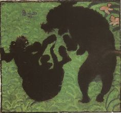 Pierre Bonnard, Les deux caniches (1891)