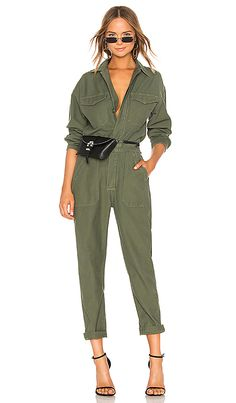 Citizens of humanity marta jumpsuit in retreat revolve Mode Outfits, Fashion Outfits, Womens Fashion, Fashion 2020, Look Fashion, Red Fashion, Boiler Suit, Jumpsuit Outfit, Jumper Outfit Jumpsuits